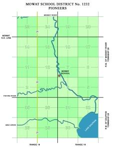 Mowat Pioneer Map