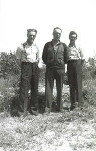 c. 1939 (Bill, Jim, Ern)