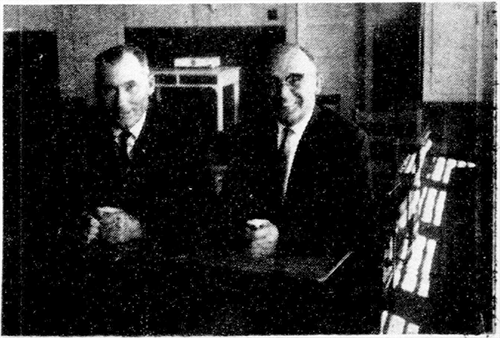 Fred Solomon and Peter Rudkevitch