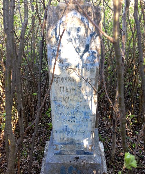 Peter Demczyszyn headstone
